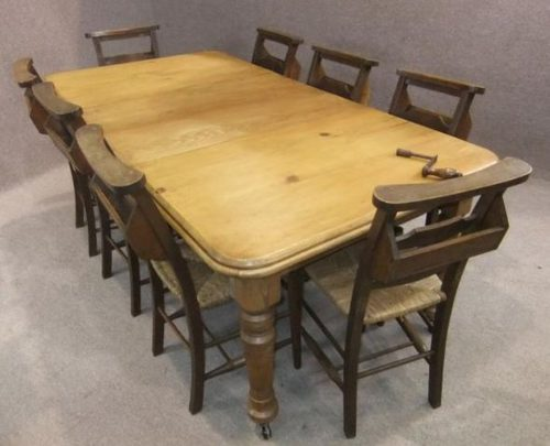 pine dining table round extending : Modern Kitchen Furniture Photos, Ideas  & Reviews - Pine Dining Table Round Extending : Modern Kitchen Furniture Photos