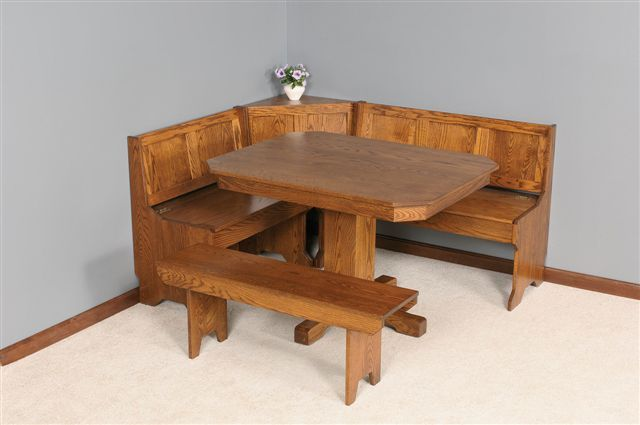 Breakfast Nook Tables Save Your Kitchen From The Numerous Numbers Of Chairs