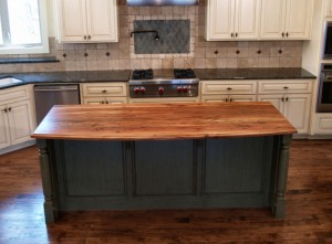 butcher block island countertops