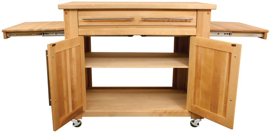 Catskill Craftsmen kitchen islands - affordable, durable ...