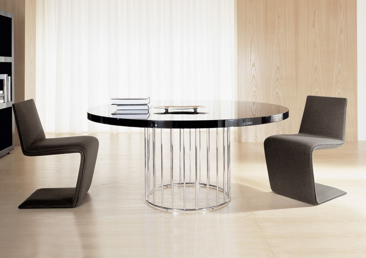 Contemporary Dining Table With Chairs