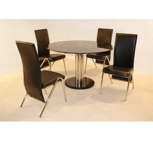 glass dining table sets cheap