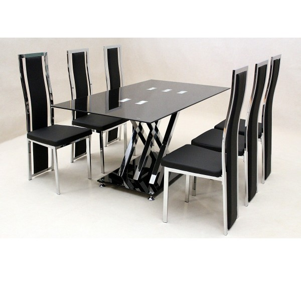 glass dining table sets clearance modern kitchen furniture
