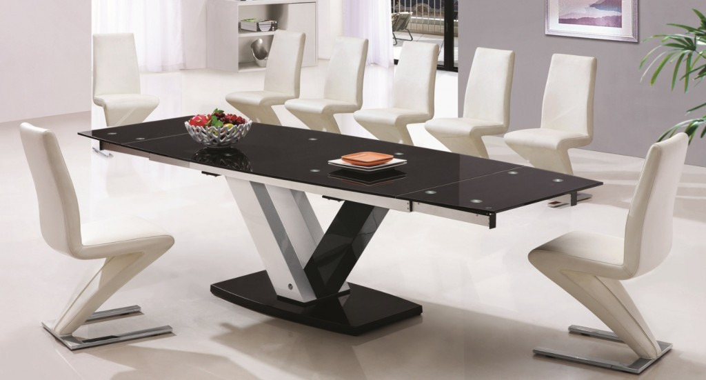 Glass Dining Tables To Seat Modern Kitchen Furniture Photos - Glass dining table for 10
