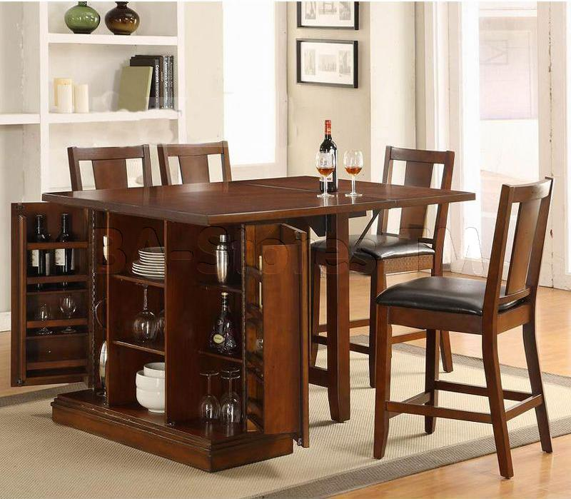 Round Dining Table With Bar Stools Matching Amazing Height Set To ...