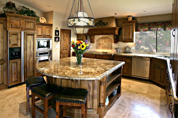 Medium image of how to make a kitchen island with breakfast bar