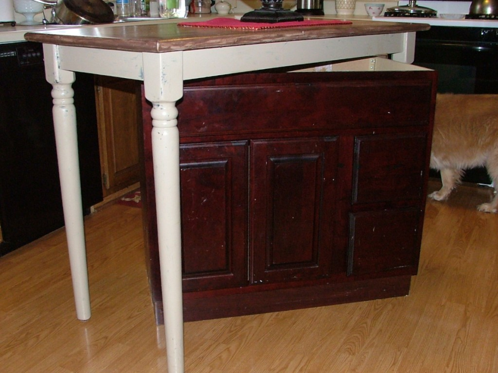 How To Make Kitchen Island Out Of Cabinets