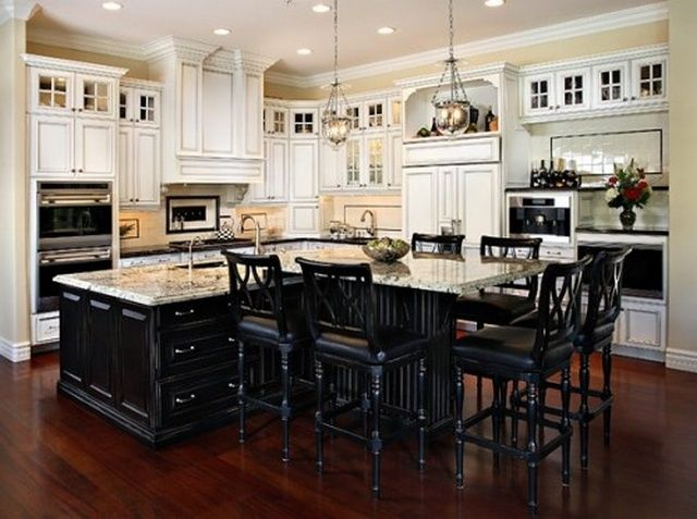 Good How To Make Kitchen Island With Cabinets