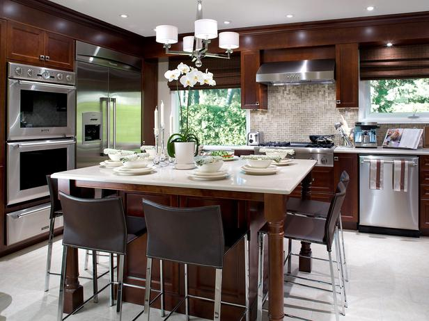 Island Tables For Kitchen With Chairs