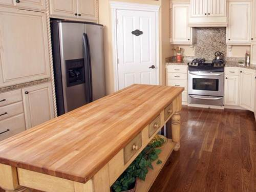 Kitchen Island Butcher Block Tops