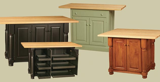 Amish Kitchen Islands For The Whole World Modern Kitchen - Amish kitchen island