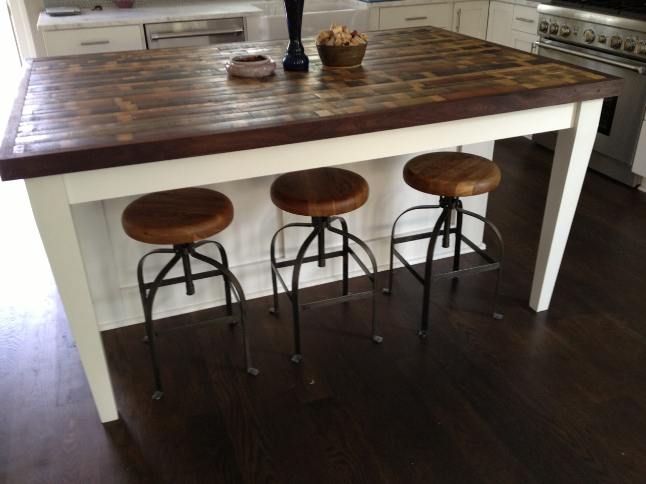 Kitchen Island Made From Reclaimed Wood Modern Furniture Photos Ideas Reviews