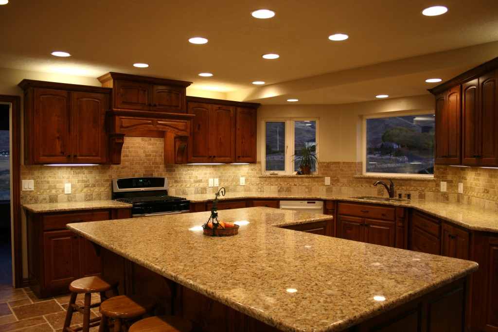 Shocking Kitchen Island Table Granite Top U Design Picture Of