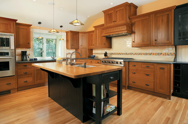 Photo Gallery Of The Kitchen Islands With Cabinets For People Who Want To  Save Precious Room Of Their Cooking Areas