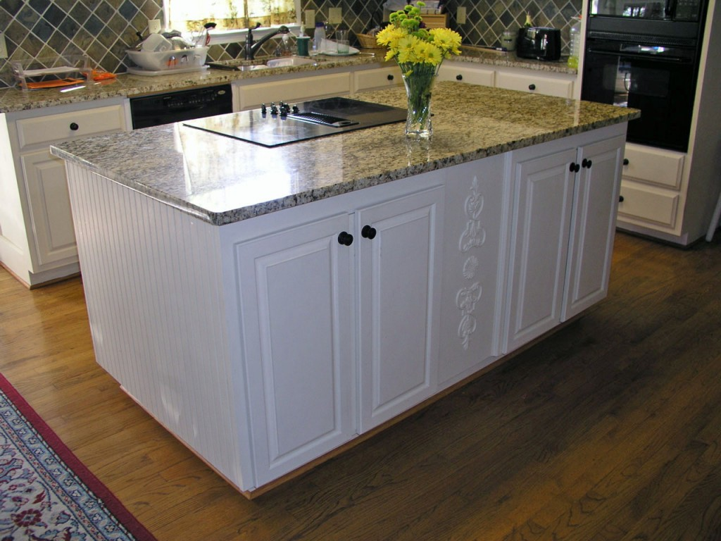 Kitchen Island With Cabinets On Both Sides Modern Kitchen