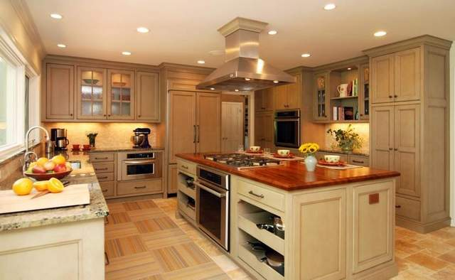 Kitchen islands with cooktops for those who love making meals ...