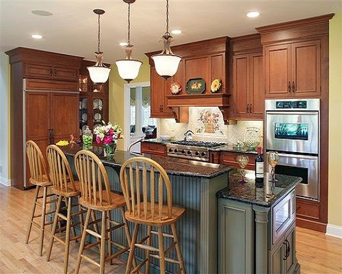 Photo Gallery Of The Two Tier Kitchen Islands For People Who Are Longing Saving Precious Room Their Cooking Areas