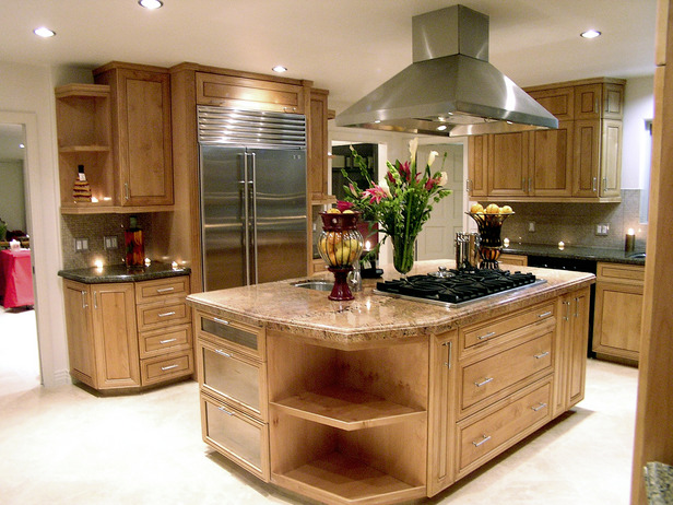 Ordinaire Kitchens With Cooktop On Island