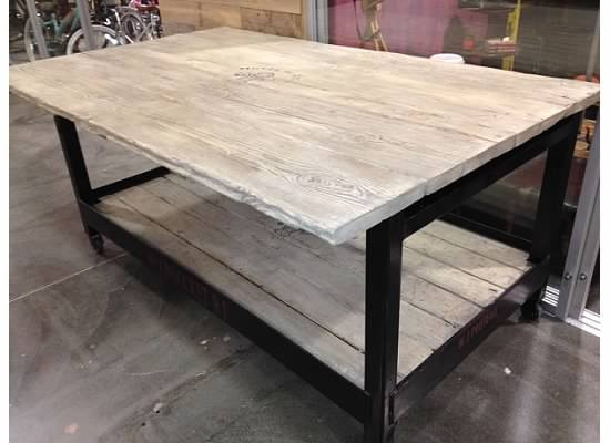 Metal Kitchen Island Base