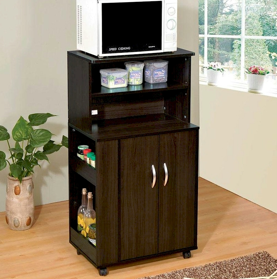 21 Photos Of The Why Do You Need A Black Microwave Cart