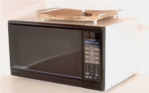 You Can Also Look For Microwave Carts. They Are Like Tables But With Small  Wheels. Such Devices Are Really Convenient For Small Places U2013 You Can Move  Carts ...