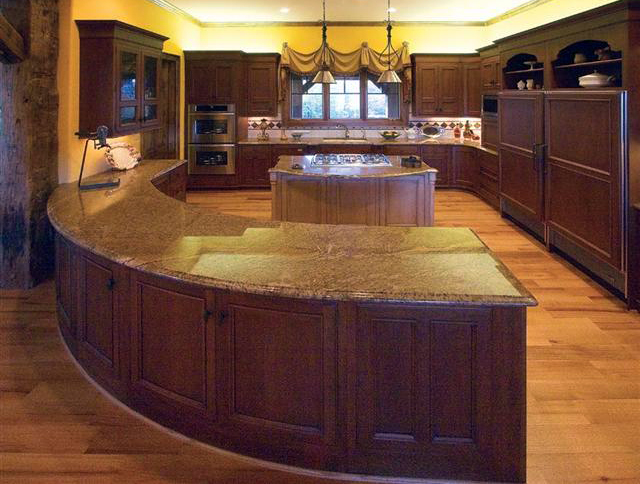 pictures of kitchen bars and islands