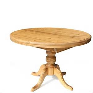pine dining table round extending - Round Pine Kitchen Table