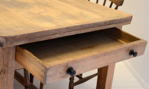 pine dining table with painted legs : Modern Kitchen ...