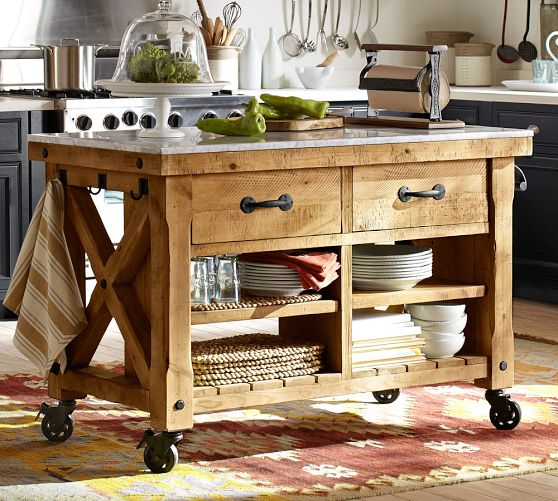Photo Gallery Of The Few Reclaimed Kitchen Island Ideas
