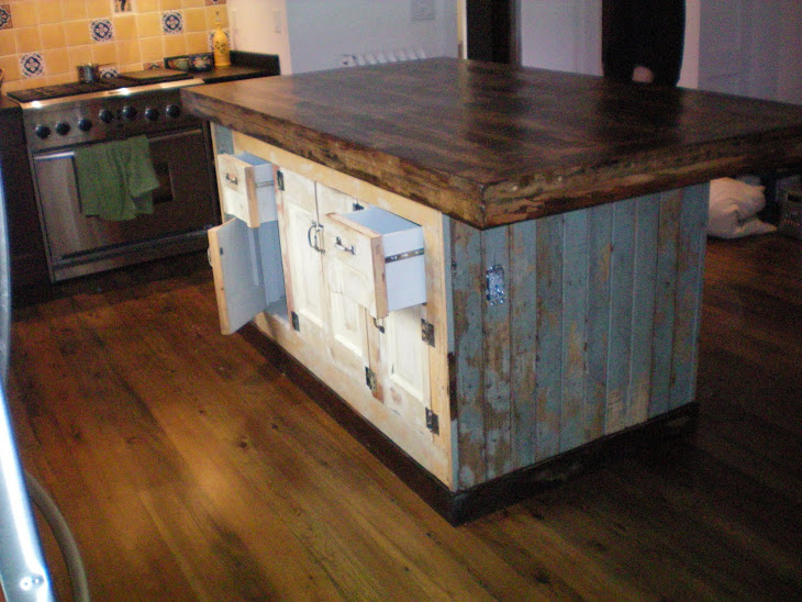 reclaimed wood kitchen island for sale : Modern Kitchen Furniture ...