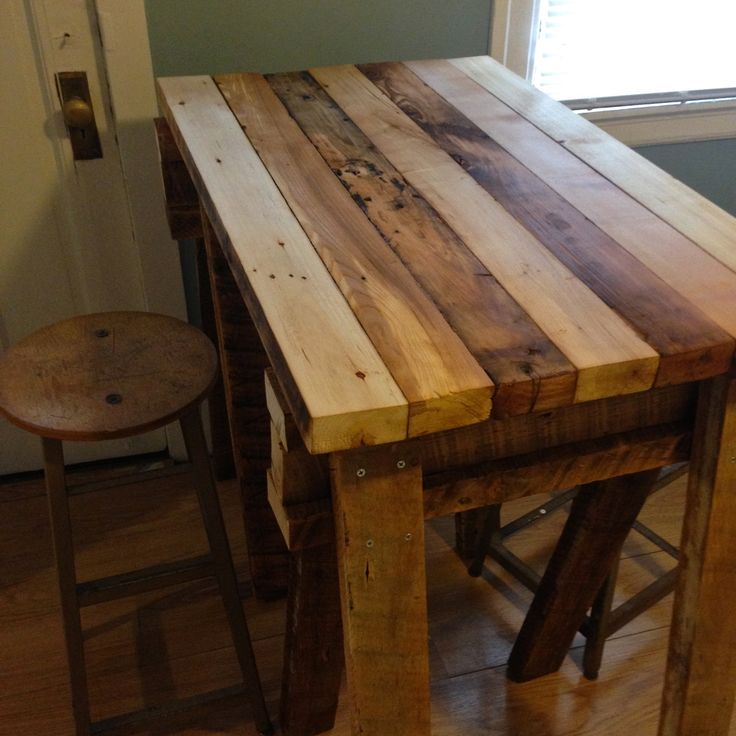 kitchen island made of reclaimed wood modern kitchen furniture