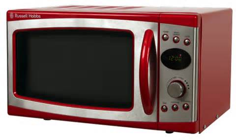 Red Digital Microwaves