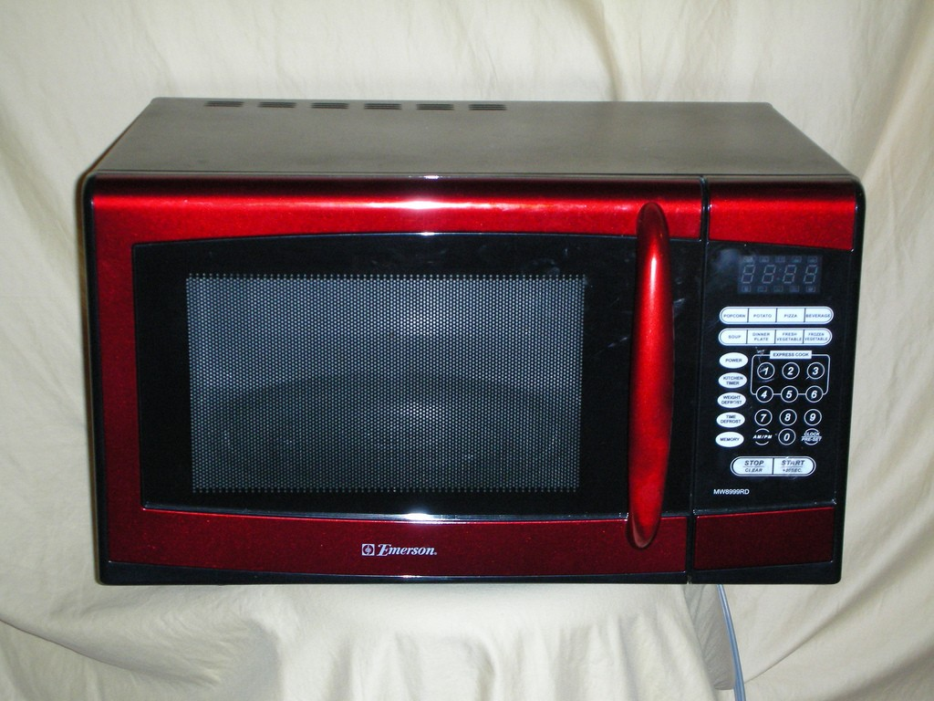 Red Microwave Emerson Modern Kitchen Furniture Photos Ideas Reviews