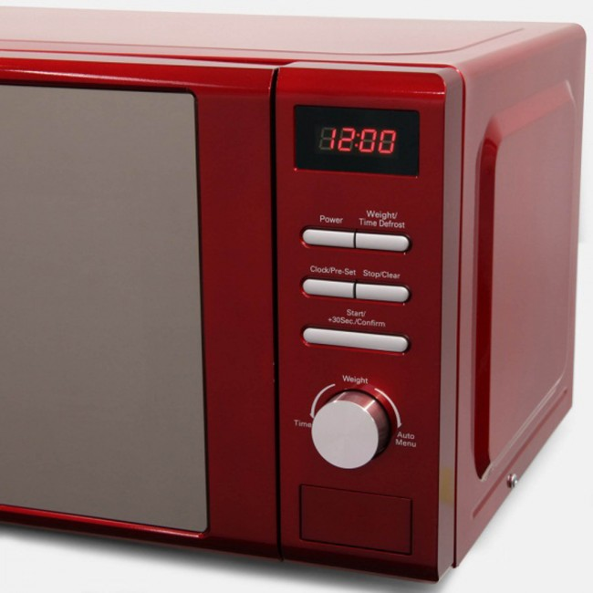 Red Microwave Robert Dyas