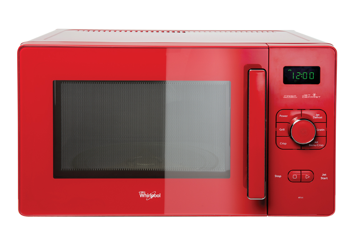 Photo Gallery Of The Make A Stylish Color Accent With Red Microwaves