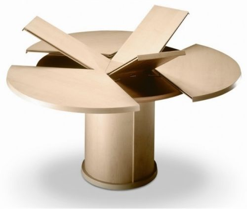 ... Round Kitchen Table Expandable ...