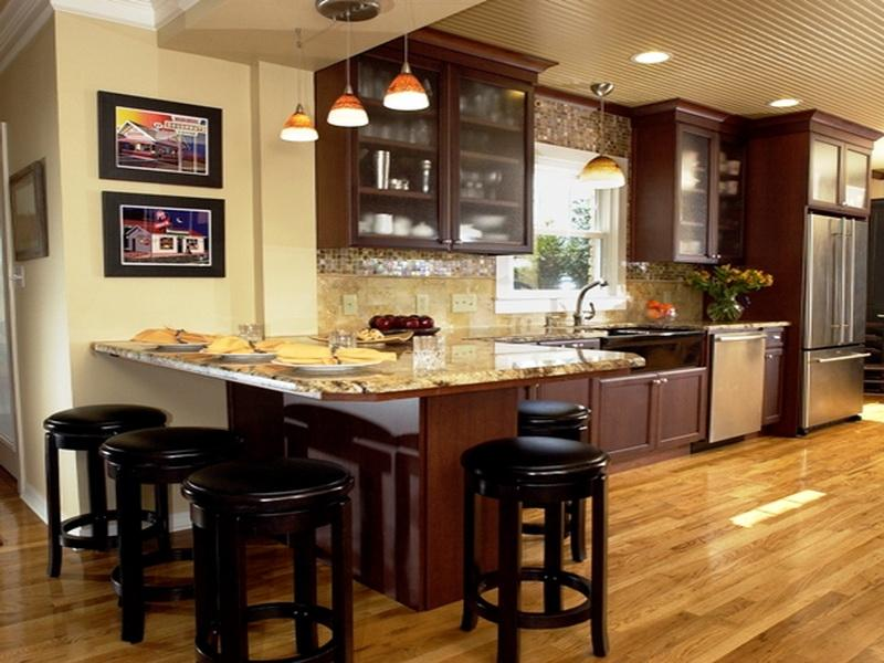 Photo Gallery Of The Narrow Kitchen Islands For Small Kitchens