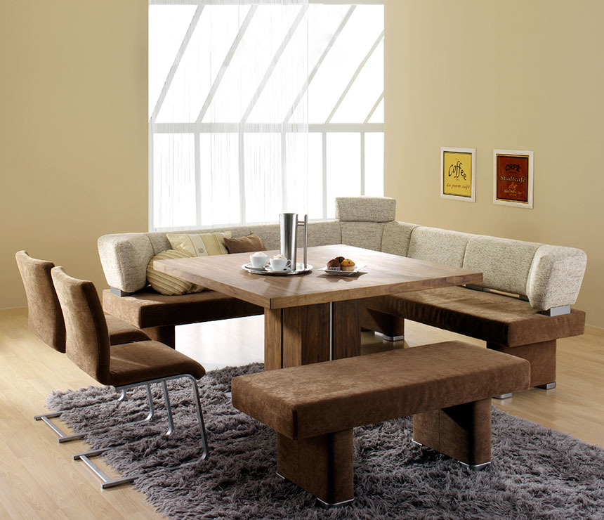 Modern Kitchen Table With Bench