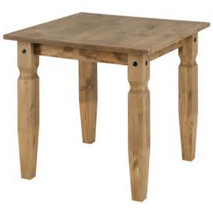 square pine kitchen tables