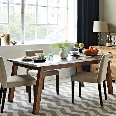 Stainless Steel Dining Table West Elm