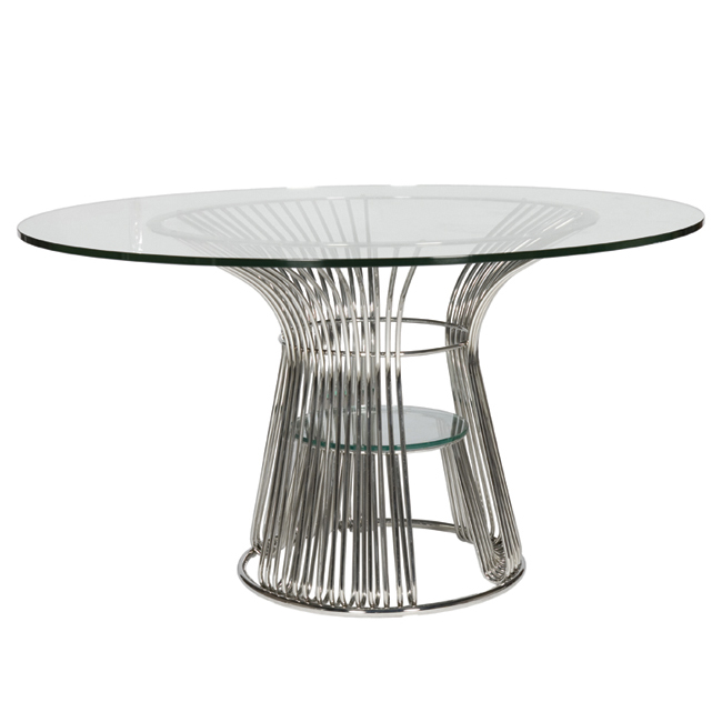 Stainless Steel Dining Table With Wheels