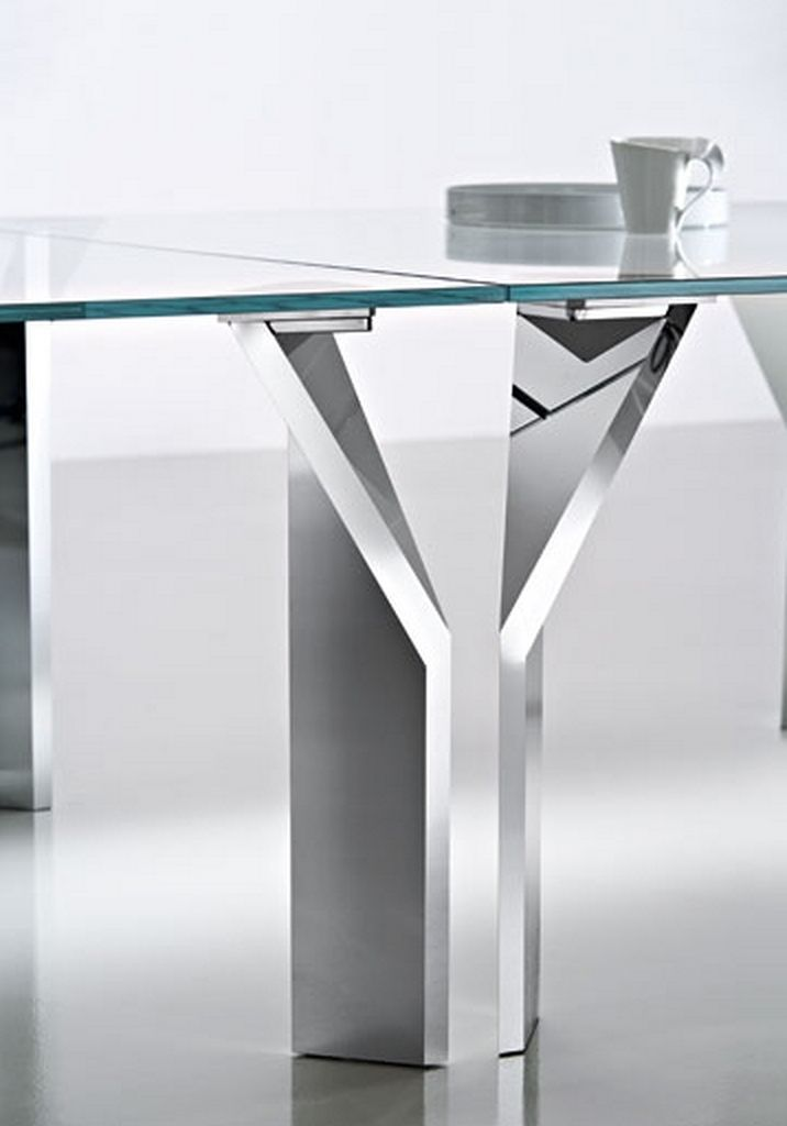 Superbe Photo Gallery Of The Stainless Steel Kitchen Tables As The Best Furniture Choice  For Modern Apartments