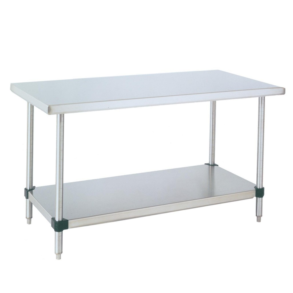 Stainless Steel Kitchen Tables Stainless Steel Kitchen Table With Wheels Modern Kitchen