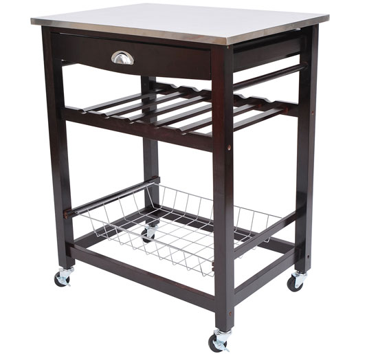 Stainless Steel Microwave Carts Stands