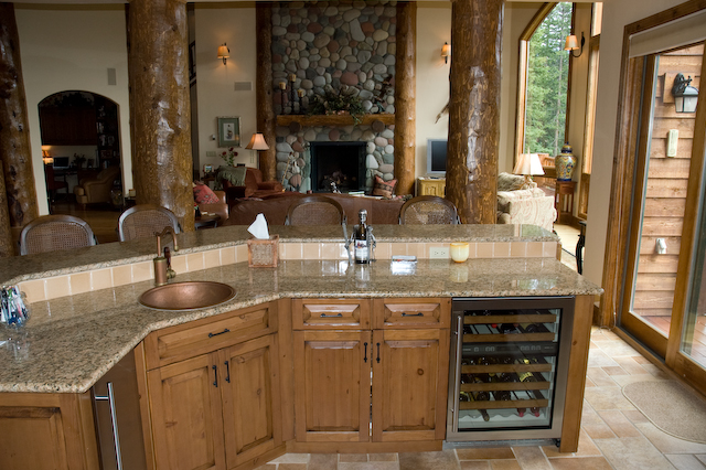 Well-liked two level kitchen island with sink : Modern Kitchen Furniture  HG41