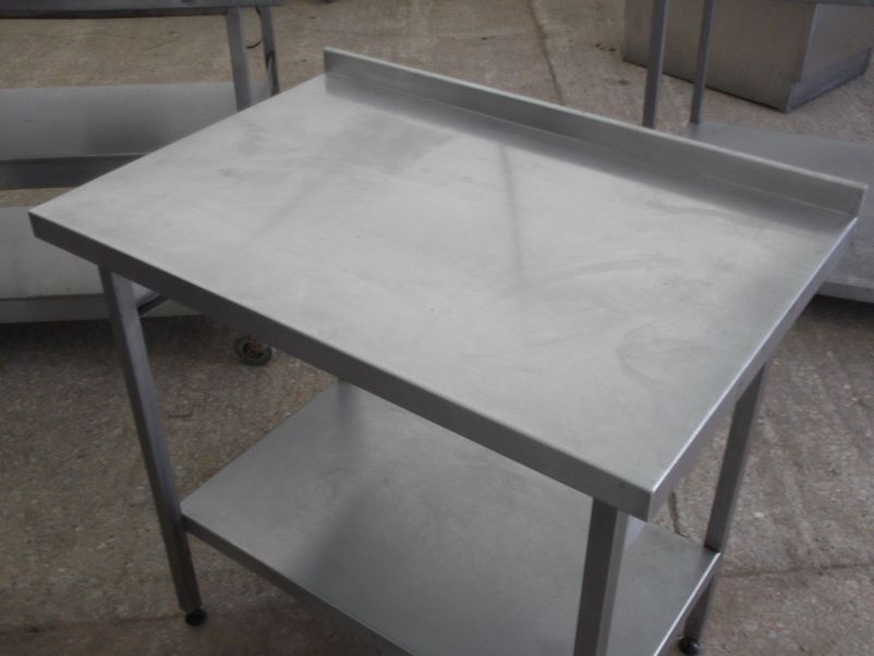 stainless steel rolling kitchen table : Modern Kitchen Furniture ...