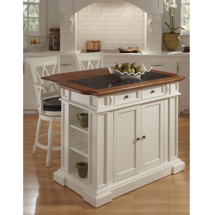what size bar stools for kitchen island