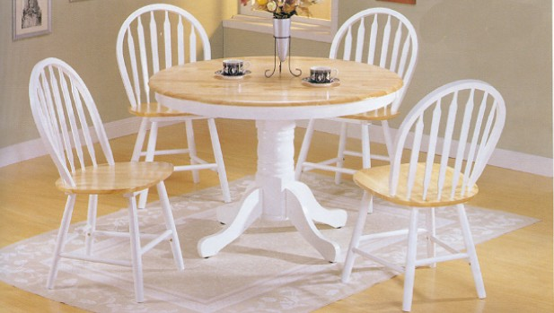 White kitchen tables for people who know what real beauty is ...