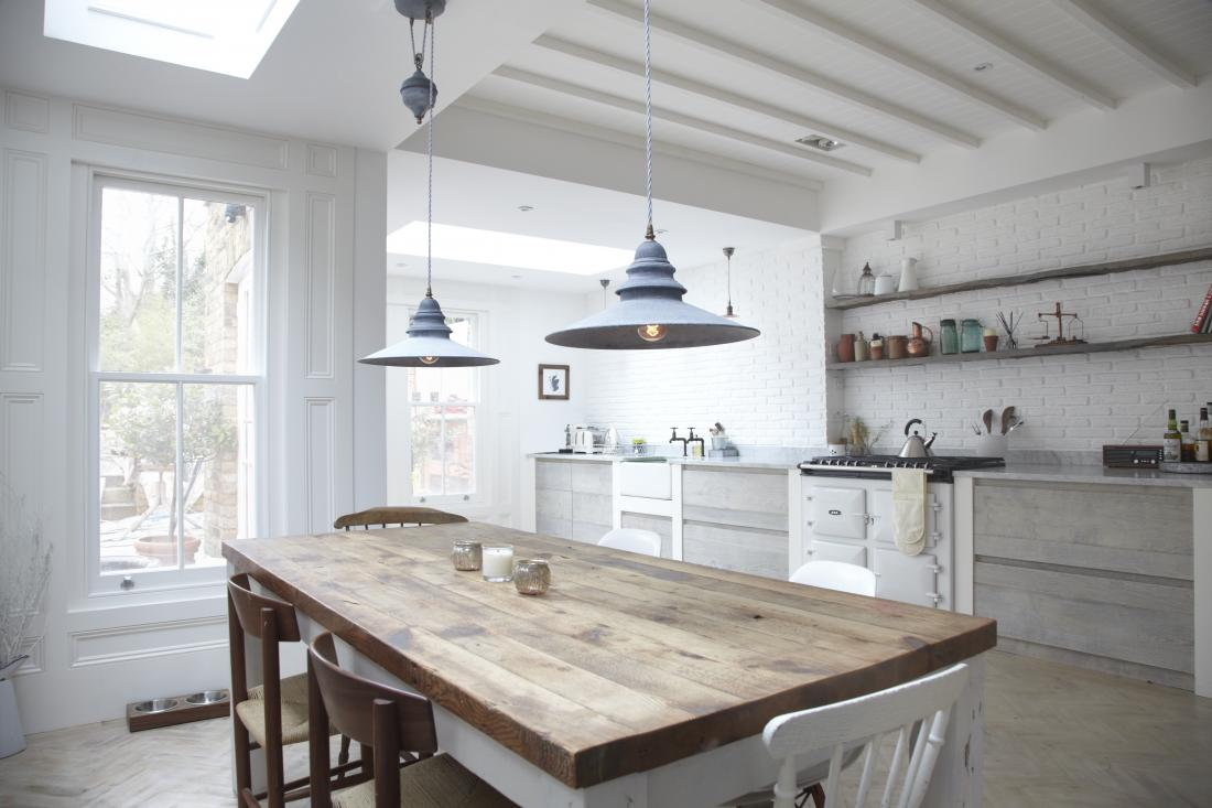kitchen reclaimed with tables dining white room magnificent rustic style wood distressed table furniture barn additional