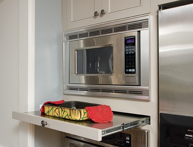 counter microwave modern kitchen ideas